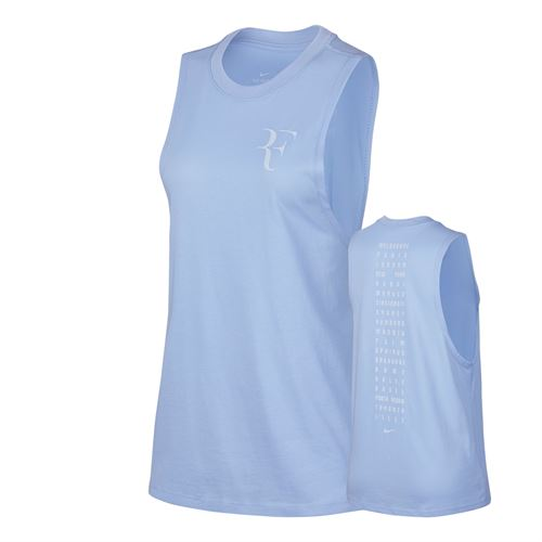 Nike Court RF Muscle Tank - Royal Tint