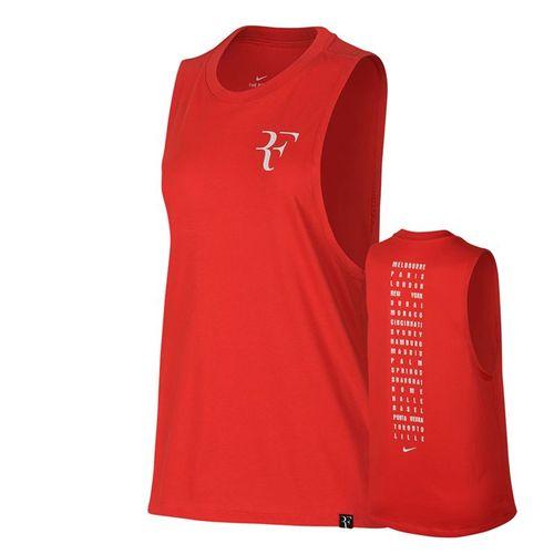 Nike Court RF Muscle Tank - Habanero Red