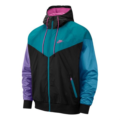 online store 5d494 a98dc Nike Sportswear Windrunner Jacket - BlackSpirit TealActive Fuchsia. Zoom