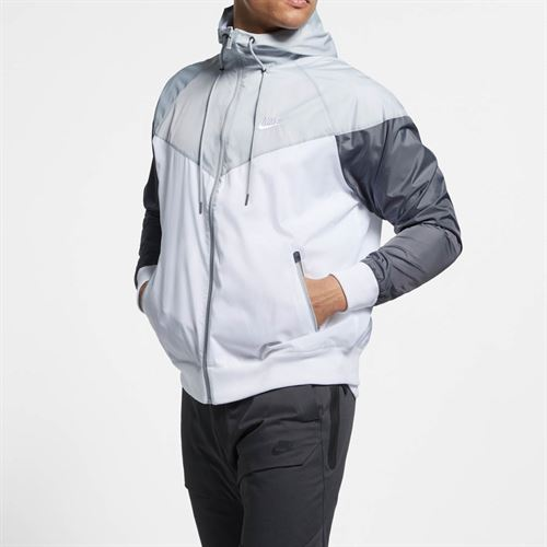 Nike Sportswear Windrunner Jacket - White/Wolf Grey/Dark Grey/White