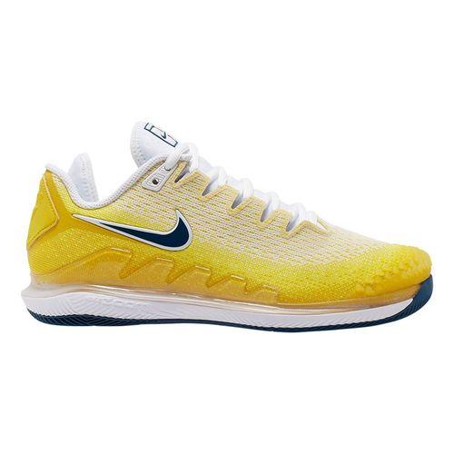 Nike Court Air Zoom Vapor X Knit Womens Tennis Shoe Opti Yellow/Valerian Blue/Bright Citron AR8835 700