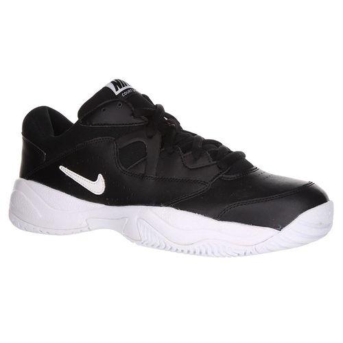 Nike Court Lite 2 Mens Tennis Shoe - Black/White