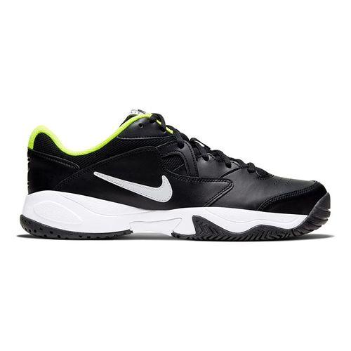 Nike Court Lite 2 Mens Tennis Shoe Black/White/Volt AR8836 009