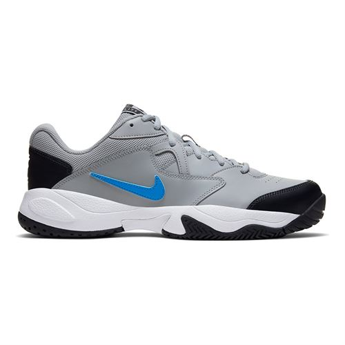 Nike Court Lite 2 Mens Tennis Shoe Light Smoke Grey/Blue Hero/Off Noir/White AR8836 011