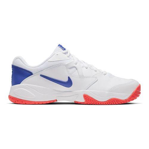 Nike Court Lite 2 Mens Tennis Shoe White/Game Royal/Flash Crimson AR8836 103