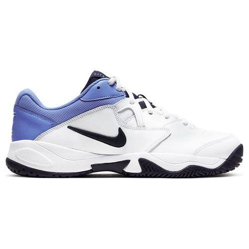 Nike Court Lite 2 Mens Tennis Shoe White/Obsidian/Royal Pulse AR8836 106