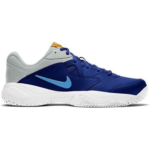 Nike Court Lite 2 Mens Tennis Shoe Deep Royal Blue/Coast/Light Smoke Grey AR8836 401
