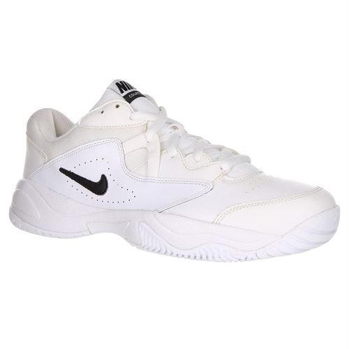Nike Court Lite 2 Mens Wide Tennis Shoe - White/Black
