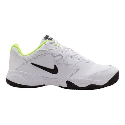 Nike Court Lite 2 Mens Tennis Shoe White/Black/Volt AR8837 107
