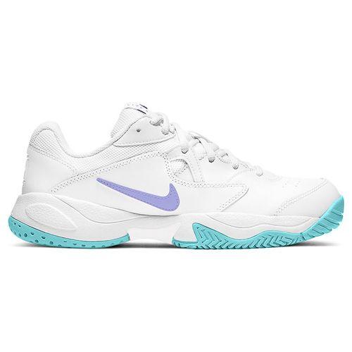 Nike Court Lite 2 Womens Tennis Shoe White/Purple Pulse/COPA AR8838 124