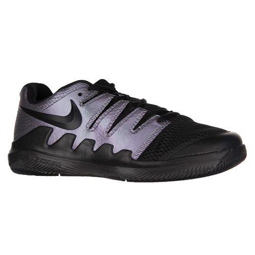 Nike Junior Vapor X Tennis Shoe - Multi Color/Black/Psychic Purple