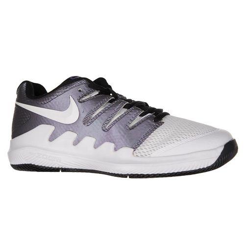 Nike Junior Vapor X tennis Shoe - Multi Color/White/Black/Psychic Purple