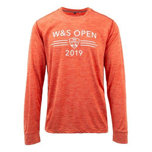 Western & Southern Performance Long Sleeve Tee - Orange