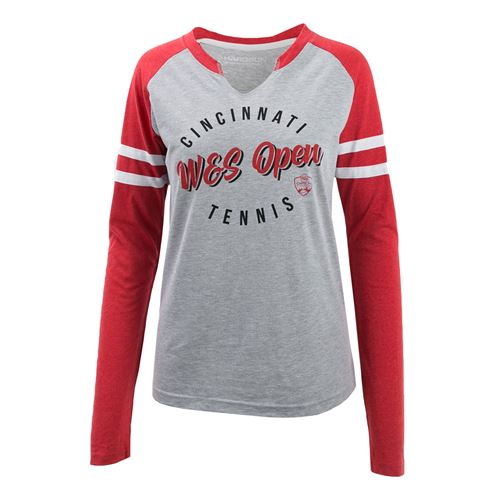 W&S Baseball Tee Red/Grey ASW19 31