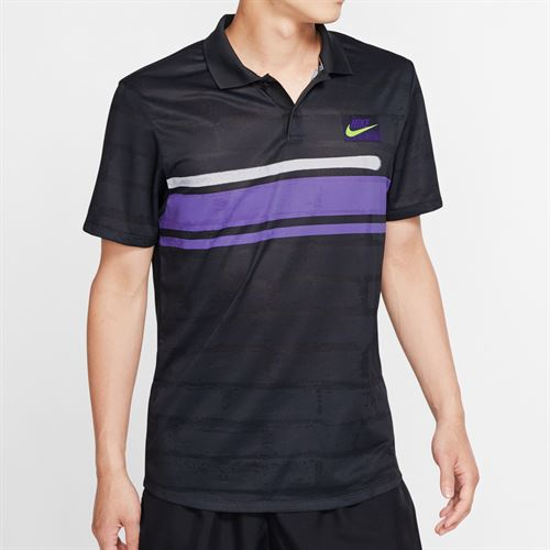 Nike Advantage Polo NY - Off Noir/Psychic Purple