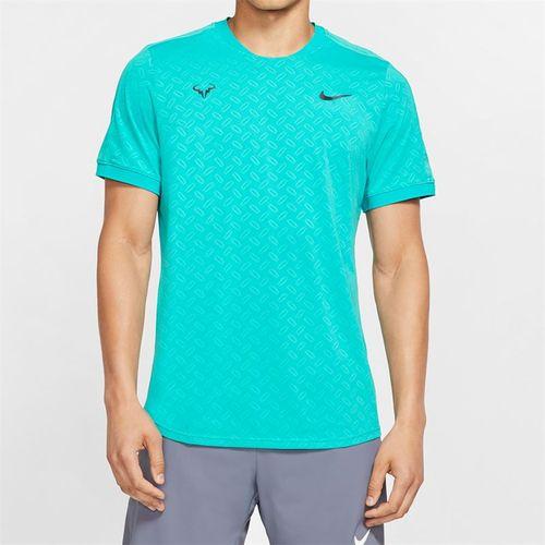 Nike Court Rafa Short Sleeve Shirt - Cabana/Gridiron