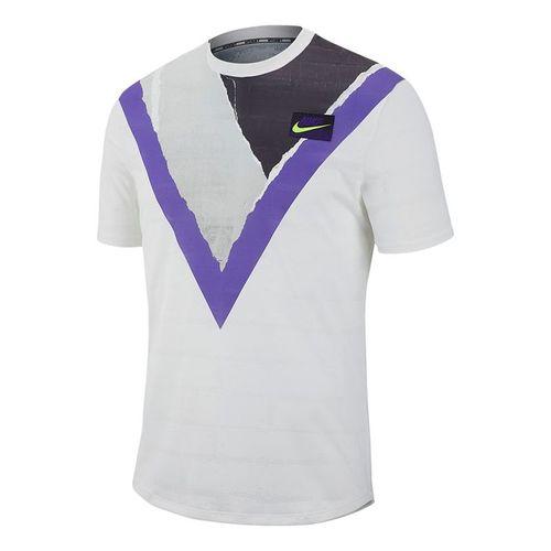 Nike Court Challenger Crew - White/Volt