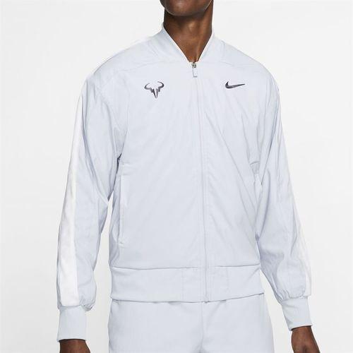 Nike Court Rafa Full Zip Jacket Mens Sky Grey/Gridiron AT4367 042