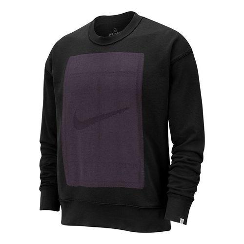 Nike Court Reversible Fleece Long Sleeve - Black/Off Noir