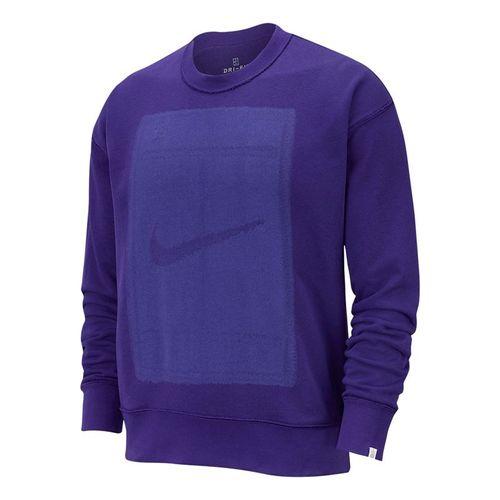 Nike Court Reversible Fleece Long Sleeve - Court Purple