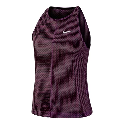 Nike Court Tank Womens Bordeaux/White AT4726 609