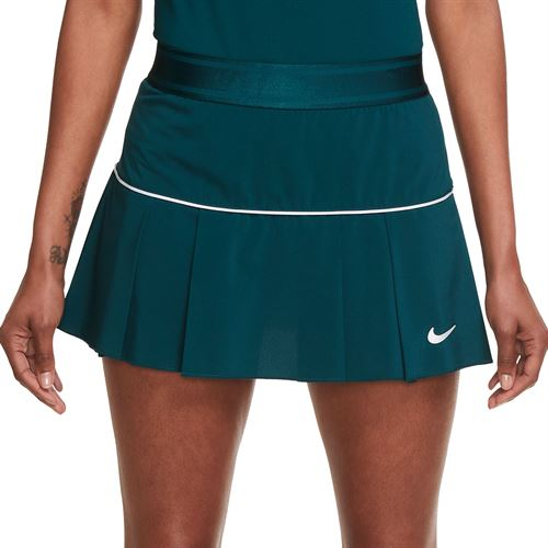 Nike Court Victory Skirt Womens Dark Atomic Teal/White AT5724 300