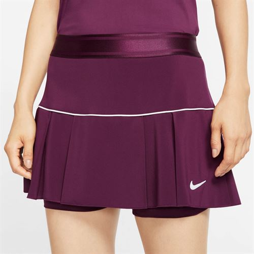 Nike Court Victory Skirt Womens Bordeaux/White AT5724 609