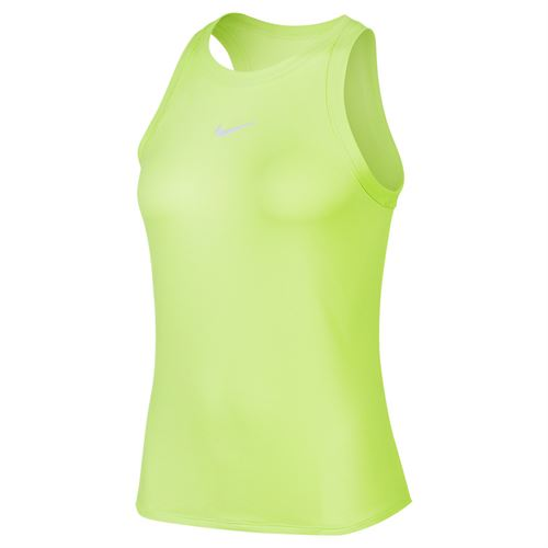 Nike Court Dri Fit Tank Womens Ghost Green/White AT8983 358