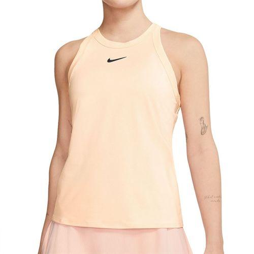 Nike Court Dri Fit Tank Womens Guava Ice/Black AT8983 838