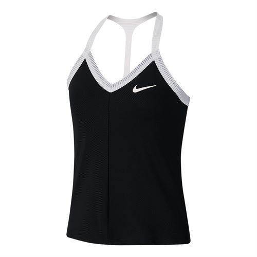 Nike Maria Tank Womens Black/White AT9182 010