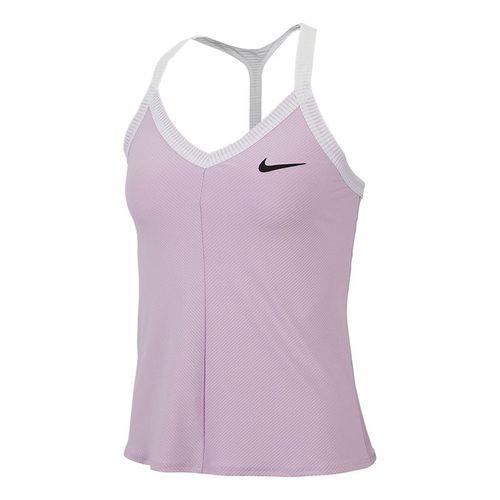 Nike Maria Tank Womens Lilac Mist/White/Black AT9182 543