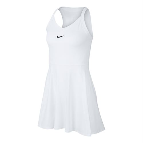 Nike Court Dri Fit Dress Womens White/Black AV0724 100