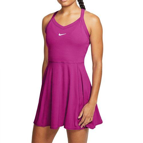 Nike Court Dri Fit Dress Womens Cactus Flower/White AV0724 564
