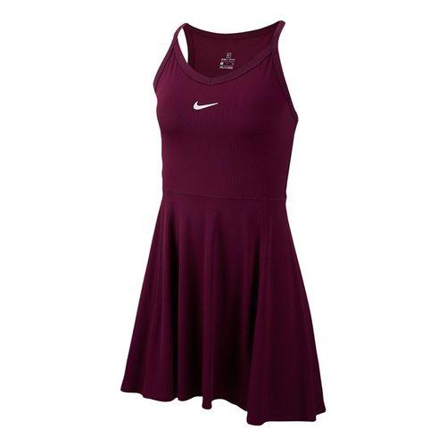 Nike Court Dri Fit Dress Womens Bordeaux/White AV0724 609