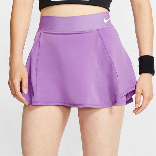 Nike Court Skirt Womens Purple Nebula/White AV0731 532