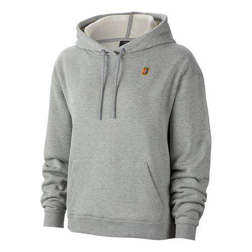 Nike Court Hoodie Womens Dark Grey Heather AV0766 063