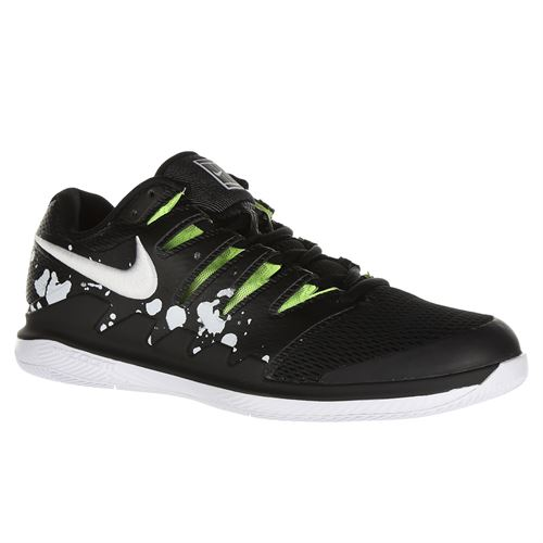 Nike Court Air Zoom Vapor X Prestige Mens Limited Edition Tennis Shoe - Black/White/Volt Glow