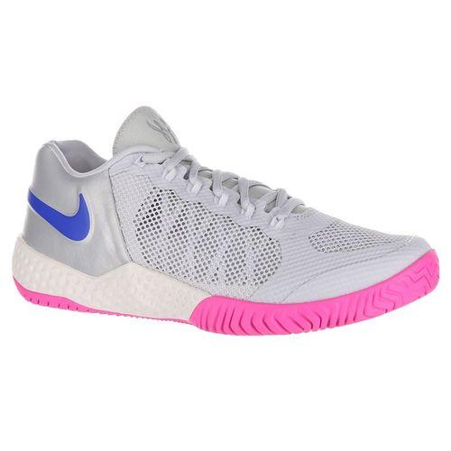 Nike Flare 2 Womens Tennis Shoe - Pure Platinum/Racer Blue/Metallic Platinum