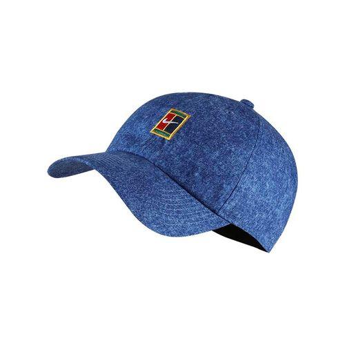 24976e0540831 Nike Court Aerobill Heritage 86 Hat - Indigo Force