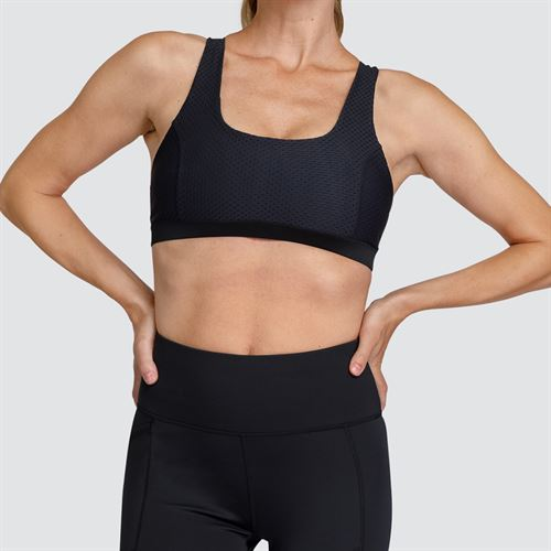 Tail Core Criss Cross Athleisure Bra - Black