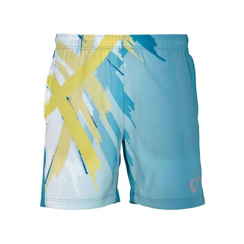Athletic DNA Boys Woven Short - Tiger Claw/Caribbean