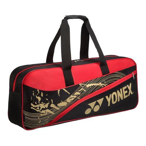 Yonex Team Tournament Tennis Bag - Black/Red
