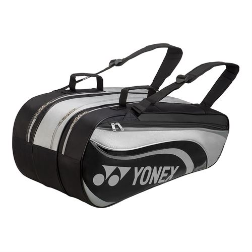 Yonex Active 9 Pack Tennis Bag - Black/Grey