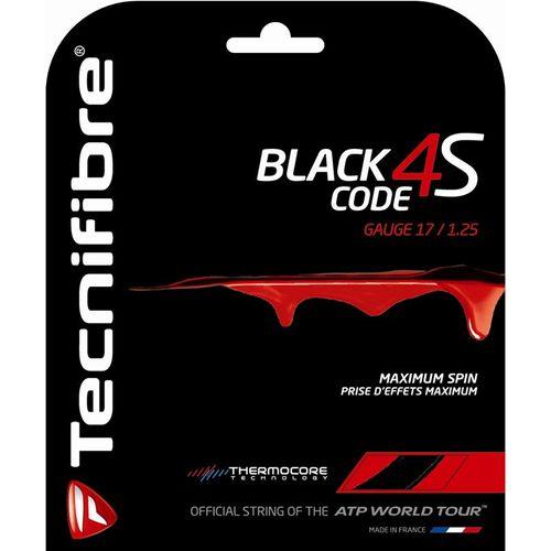 Tecnifibre Black Code 4S 17G Tennis String
