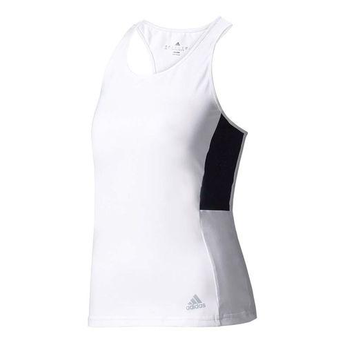 adidas Advantage Tank - White/Black