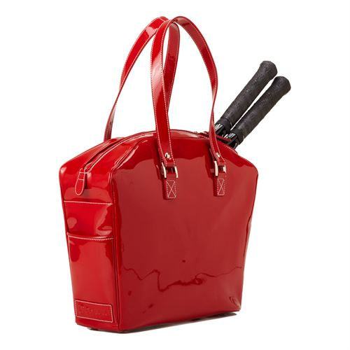 Cortiglia Belvedere Tennis Bag - Red