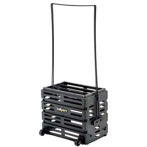 Tourna Ballport Deluxe 80 With Wheels Ball Hopper