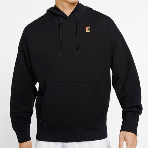 Nike Court Heritage Hoodie Mens Black BV0760 010