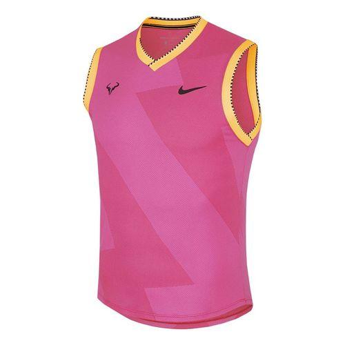 Nike Court Rafa Sleeveless Shirt - Laser Fuchsia/Thunder Grey