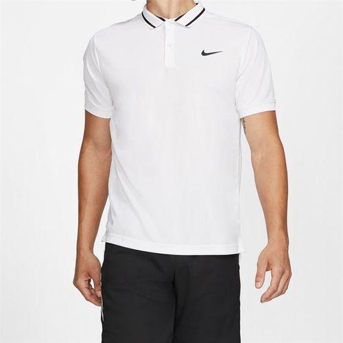 Nike Court Dry Pique Polo - White/Black